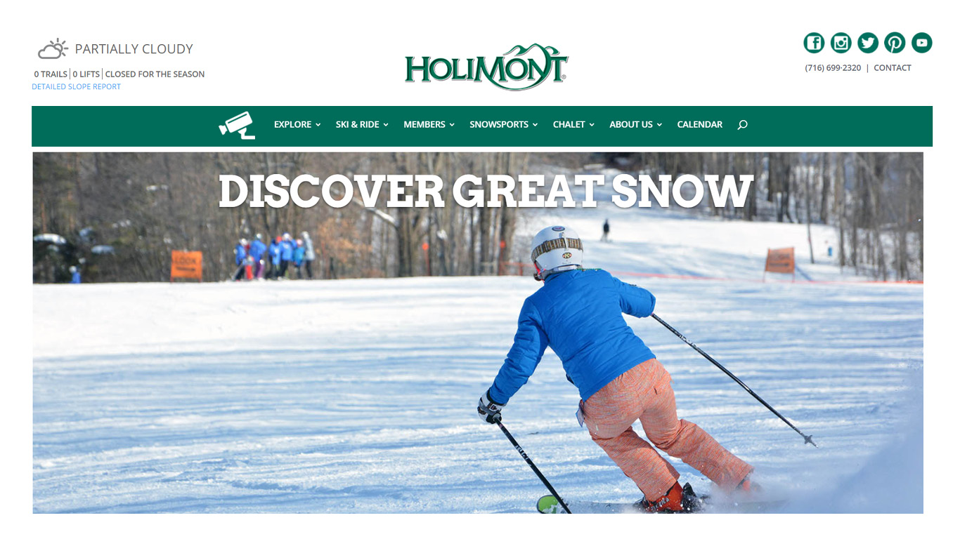HOLIMONT HOMEPAGE