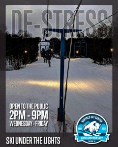 Buffalo Ski Center Social Media Ad
