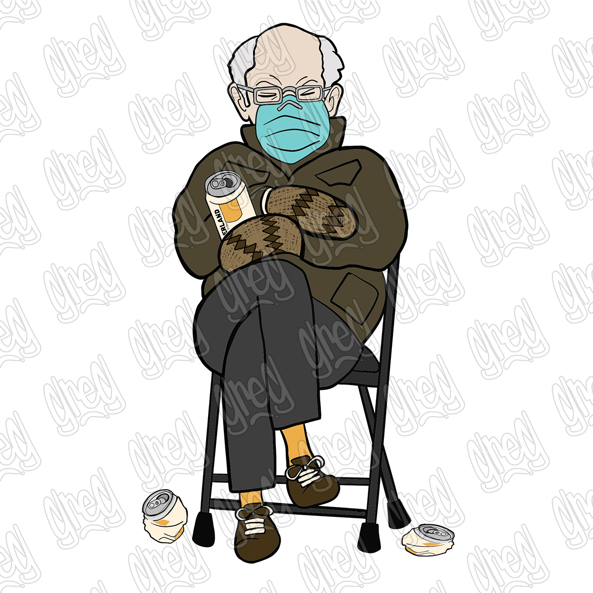 Bernie Sanders Cartoon by Greg Culver