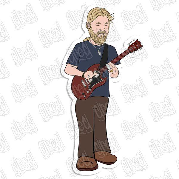 Derek Trucks Cartoon by Greg Culver