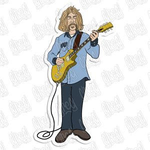 Duane Allman Cartoon by Greg Culver