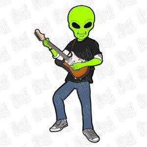 Big Something Alien Nick Pin
