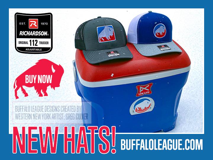 Buffalo League Hats