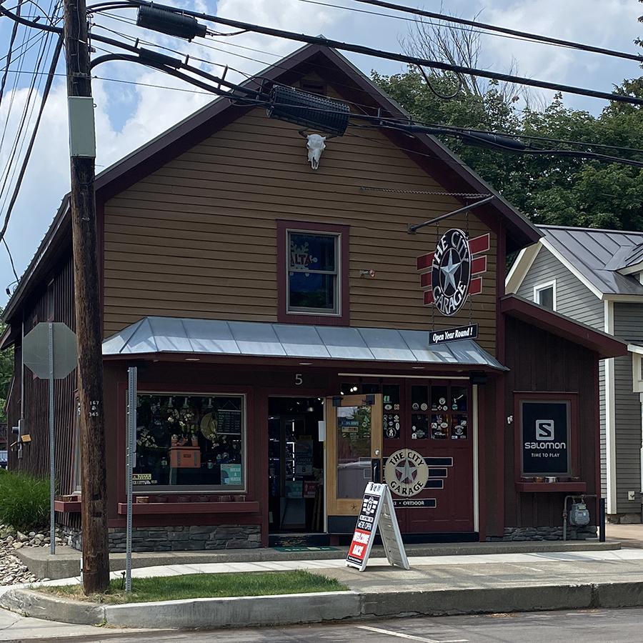 The City Garage Ski Shop