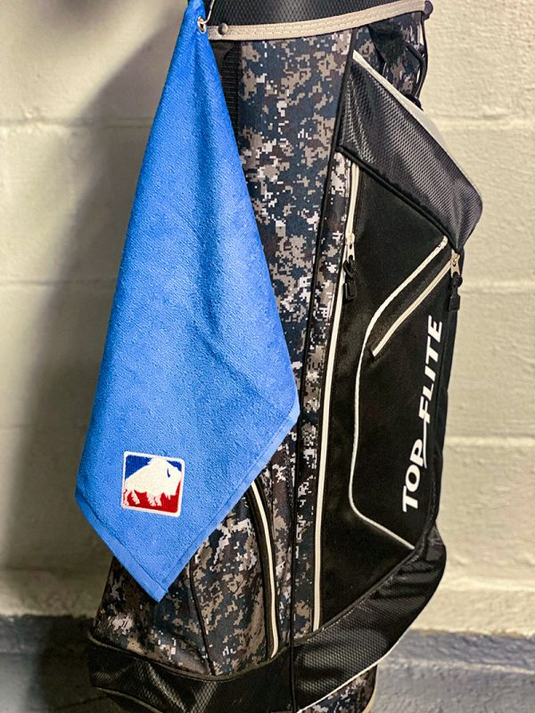 Buffalo League Golf Towel