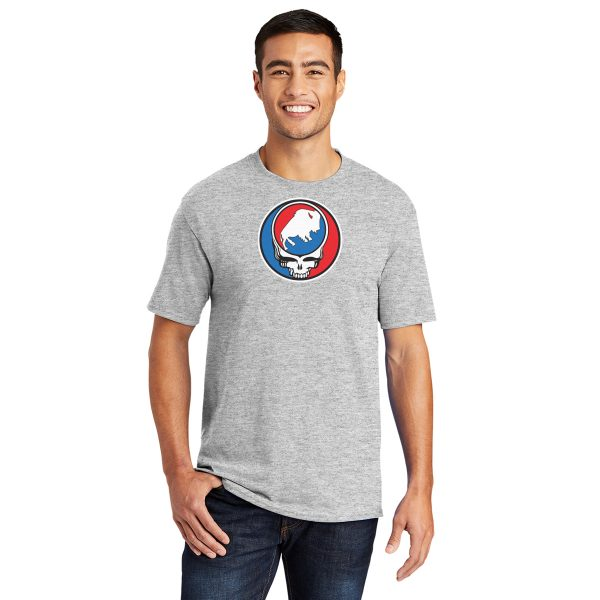 Buffalo League Steal your Buffalo Adult t-shirt heather