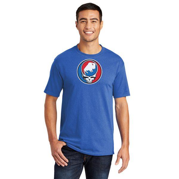 Buffalo League Steal your Buffalo Adult t-shirt royal