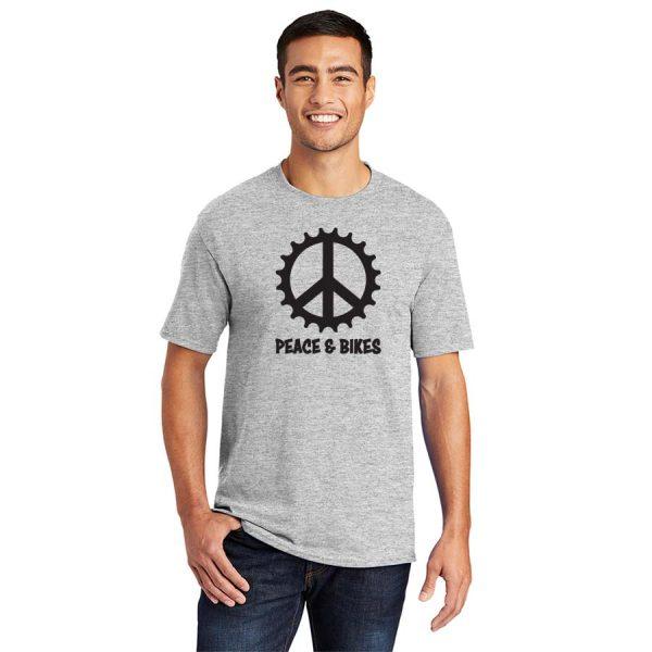Peace and Bikes T-shirt Black