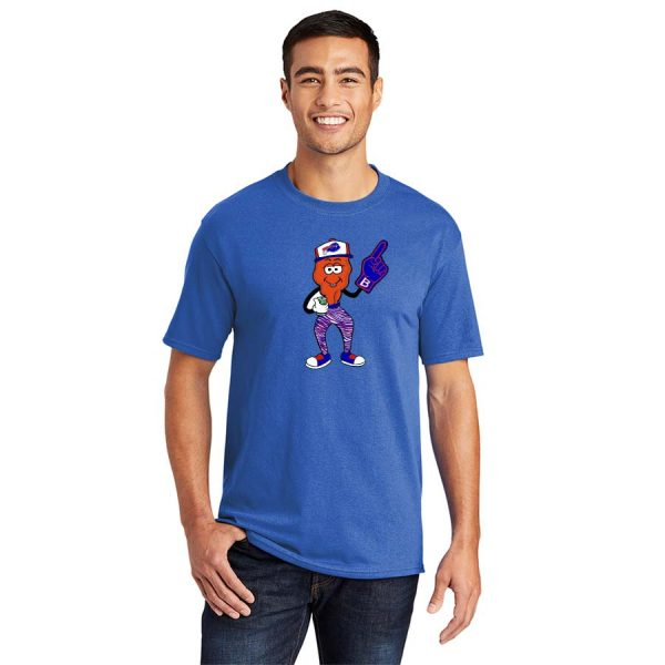 Buffalo Fan WIng T-Shirt Royal